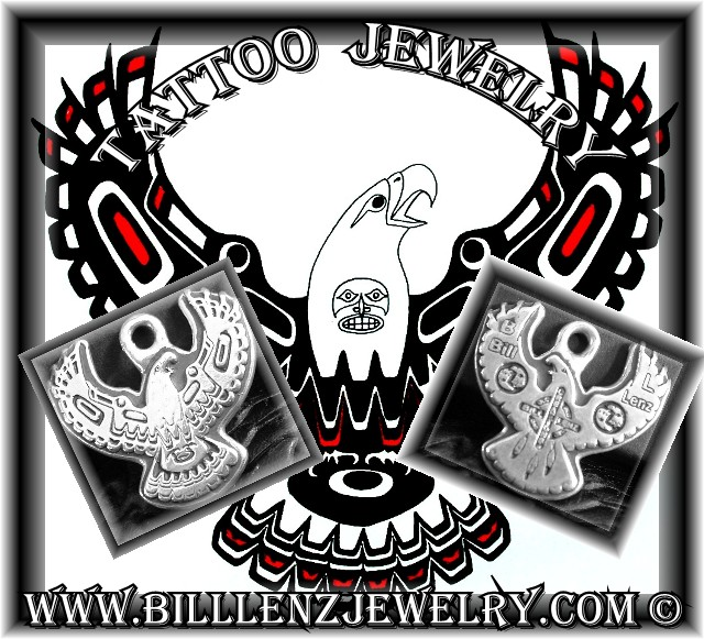 "Custom Tattoo JewelryArtisan ""ONE OF A KIND"" Pieces made from YOUR OWN"