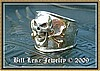Skull & Gold Bones Pirate Ring
