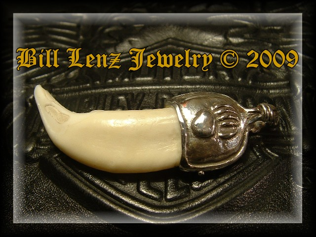 Bear Tooth Fetish Pendant