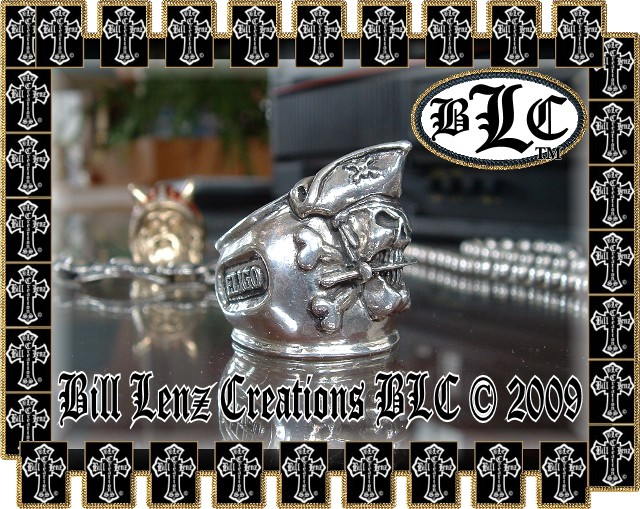 Bill Lenz Pirate Captain Ring