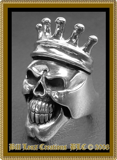 Silver Skull King Crown