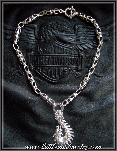 Billy Links w/Dragon Hook Pendant